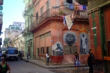 Una esquina en Habana Vieja.