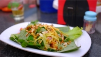 Green mango salad.