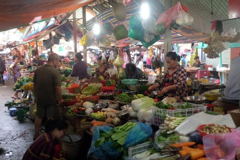 Mornings at the market.