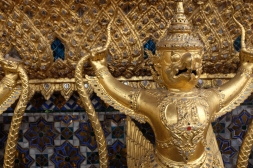 Detail shot of the Temple of the Emerald Buddha