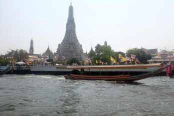Wat Arun from the Chao Phraya Riverboat