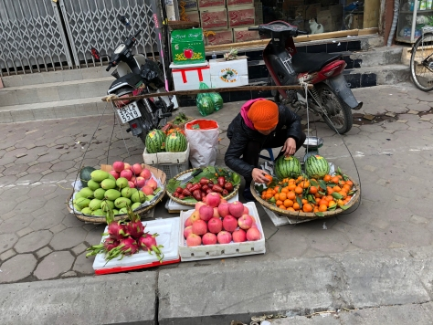 Afternoon vendor.
