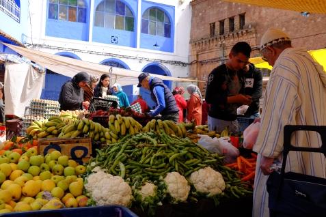 Mornings at the market.