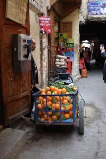 Oranges, oranges everywhere.