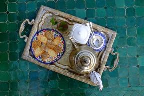 Tea & cookies.