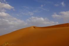 The Sahara Desert (Erg Chebbi).