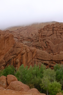 In the Dades Valley.
