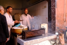 Monsieur Fromage in the Souk Talaa.