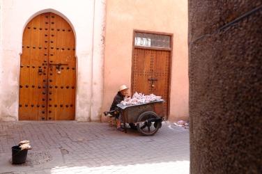 The garlic vendor.