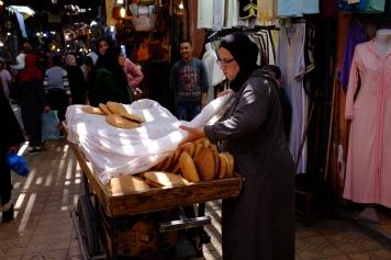 Bread, bread everywhere.