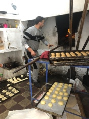 """Days in Chefchaouen: 1.5. Visits to this legendary baker: 3 🤗 This oven """"Al-Haouta"""" dates to the 1540s 😮And the man at the helm is a master."""